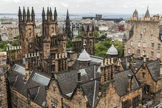 Edinburgh University by travellingred, via Flickr