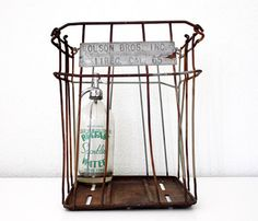 Metal Farm Basket