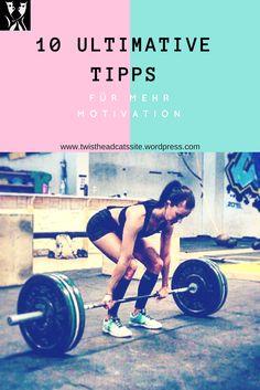 10 ultimative Schritte, um Motivation zu finden. Mit diesen Tipps und Tricks hat dein innerer Schweinehund keine Chance mehr! Yoga Fitness, Fitness Hacks, Sport Fitness, Motivation, Blog, Training, Workout, Sports, Movies