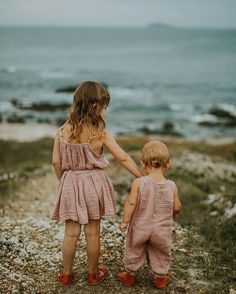 Sister love in dusty pink  Mia top, tutù skirt and Stef baby combi