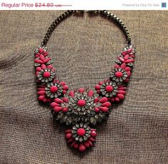 Shourouk Inspired Statement Necklace by costumejewelrystore, $22.32