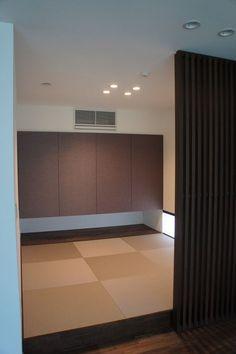 【Web内覧会】和室 | 住友林業で建てるこだわりの平屋 Japanese Modern, Japanese Interior, Washitsu, Tatami Room, Asian Style, Conference Room, Flooring, House, Furniture