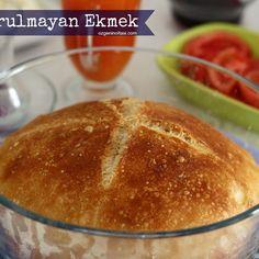 NY Times Famous Non-Knead Bread - Dessert Bread Recipes Best Bread Recipe, Bread Recipes, Cooking Recipes, Bakery Recipes, Dessert Recipes, No Knead Bread, Sourdough Bread, Cookery Books, Easy Bread