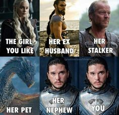 Game Of Thrones Memes 2019 - I didn't know it was possible to laugh and cringe at the same time - Hintergrundbilder Art Got Memes, Funny Memes, Hilarious, Game Of Thrones Instagram, Game Of Thrones Meme, Game Of Thones, Mother Of Dragons, You Funny, Funny Stuff