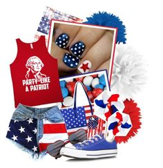 """""""4th of July Look Video!"""" by nychicstyler ❤ liked on Polyvore featuring Casetify and Converse"""