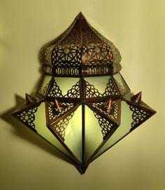 Ideal Orientalische Wandlampe Fadwa Kunsthandwerk direkt aus Marokko