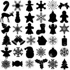 christmas silhouettes - Поиск в Google