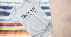 Tally Ho onesie from Cove & Capri