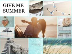 Collage summertime
