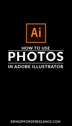 How To Add Photos in Adobe Illustrator - Free Image Editing - Edit Image online - Adobe Illustrator Tutorial: Once you know how to properly place crop and edit photos inside Illustrator. Graphic Design Tools, Web Design Tips, Graphic Design Tutorials, Tool Design, Design Process, Layout Design, Design Design, Design Guidelines, Design Trends