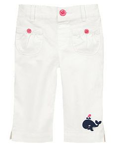 Whale Cuff Pants | Gymboree
