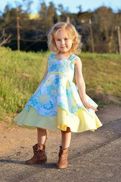 Looking for your next project? You're going to love Arianna's Dress PDF Pattern by designer FairytaleDesign.