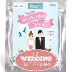 Verwenden Sie Blütenpaste oder Fondant zum Modellieren kleiner Verzierungen und Figuren. Nicht nur für die Hochzeit... #Blütenpaste #Fondant