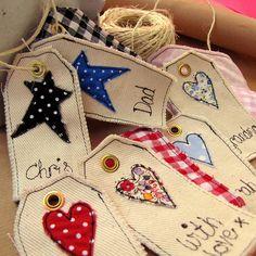 Personalised Tag - Hearts & Stars
