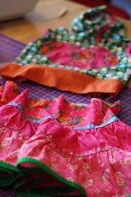 Hazeltjes: Rimpelen met de Overlockmachine Sewing Hacks, Sewing Tutorials, Sewing Tips, Sewing Lessons