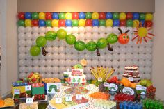 The Very Hungry Caterpillar Birthday Party Ideas   Photo 1 of 15   Catch My Party