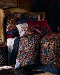 Lauren by Ralph Lauren Poet Society Bed Linens King Duvet Cover traditional duvet covers