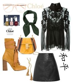 """CHLOÈ"" by stylesmanda on Polyvore featuring Chloé and Chloe + Isabel"