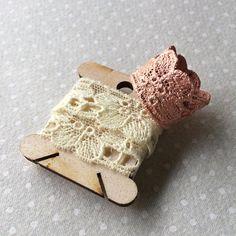 Handmade Vintage Floral Lace Ring in Copper Electroformed