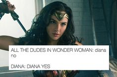 Literally Just Some Great Wonder Woman tweets - click to see them all
