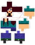 Papercraft Designs with tags 'character' Minecraft Real Life, Minecraft Party, Minecraft Creations, Science Art, Pet Shop, Cool Art, Allan, Tags, Cool Stuff
