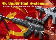 LCT AK Upper Rail System Released