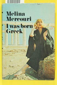 Melina Mercouri Lana Del Ray, Fiction And Nonfiction, Amy Winehouse, Famous Women, Novels, Celebrities, Greeks, Movie Posters, Sunday