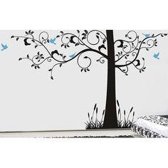Pop Decors Super Elegant Tree Wall Decal