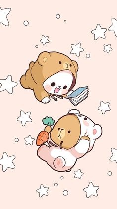 Quotes cute animals kitty ideas for 2019 Art Kawaii, Arte Do Kawaii, Kawaii Doodles, Kawaii Anime, Cute Bear Drawings, Cute Kawaii Drawings, Cute Cartoon Drawings, Panda Wallpapers, Cute Cartoon Wallpapers