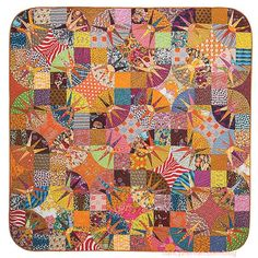 Double Wedding Ring Quilts as seen on Sewing WIth Nancy with guest Victoria Findlay Wolfe
