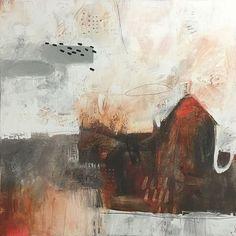 art journal - expression through abstraction — artpropelled:     Karen Roehl