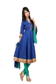 Look trendy and stylish in this vibrant suit! With its lovely lace and fabric and a charming printed dupatta , it will make you look beautiful and gorgeous.visit: http://www.seveneast.in/index.php?route=product/product&path=81&product_id=82