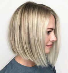 70 Winning Looks with Bob Haircuts for Fine Hair 70 Winnin. - 70 Winning Looks with Bob Haircuts for Fine Hair 70 Winning Looks with Bob Ha - Bob Haircut For Fine Hair, Bob Hairstyles For Fine Hair, Lob Haircut, Long Bob Fine Hair, Bob Haircut Long, A Line Haircut Short, Wedding Hairstyles, Blonde Bob Haircut, Pretty Hairstyles