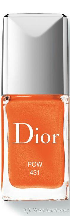 Orange Yellow, Orange Color, Dior Beauty, Orange Crush, Fabulous Nails, Orange Blossom, Sunglasses Case, Lipstick, Nail Art
