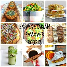 26 vegetarian Passover recipes #passover #recipes