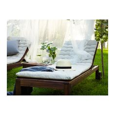 ÄPPLARÖ Chaise IKEA The back can be adjusted to five different position. Wheels make it easy to move. $129.00