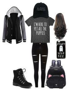 Underage #2 by ana-hood on Polyvore featuring River Island, G.H. Bass & Co., Nasaseasons and ASOS