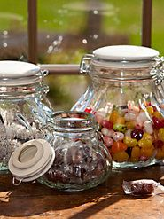 Storage Jars (Set of 3, One of Each Size)