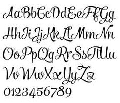 hand lettering alphabet google search