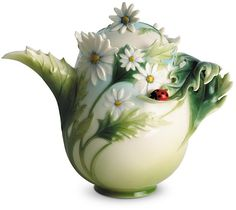 Gorgeous franz collection daisy and ladybug teapot ❤️Sstyleaffiliate❤️