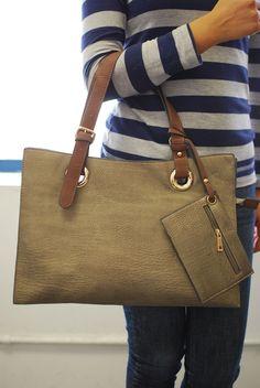 AGP-Feminine Briefcase Handbag $32.99