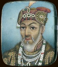 Akbar II Mughal Architecture, Indian Artwork, Mughal Paintings, History Of India, Blue Bloods, Vintage Glamour, Asian Art, Captain Hat, Miniatures