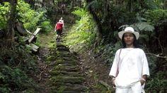Entrada en la mágica Cuidad Perdida.  magictourcolombia.com #wetakeyouthere