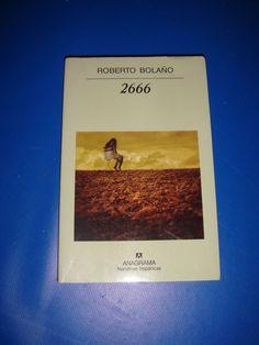 Libro  2666 de ROBERTO BOLAÑO buen estado