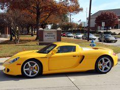 Fayence Yellow 2005 Porsche Carrera GT 2017 Maverick Toy Drive Plano Police Station (Photo by Bob Molyneux) ----------------------------------------------- Porsche Carrera Gt, Classic Cars, Classic Auto, Porsche Classic, Lamborghini Aventador, Ferrari, Drag Racing, Auto Racing, Porsche Club