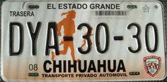 Mexico Chihuahua License Plate
