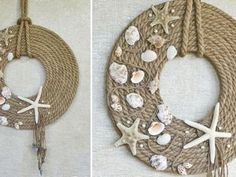 Jute Rope Decor: Video Tutorial – a free tutorial on the topic: DIY Projects ✓DIY ✓Steps-By-Step ✓With photos Glue Art, Rope Decor, Hamster, Jute Twine, Seashell Crafts, Fall Diy, Handmade Decorations, Burlap Wreath, Craft Supplies