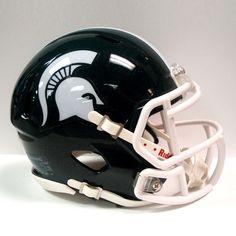 Miniature Ncaa Speed Helmet Michigan State