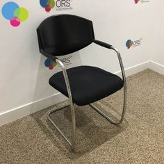 Used & second hand office furniture from ORS. We have a wide range of quality second hand office furniture readily available to buy in the UK. Buy Used Furniture, Office Furniture, Used Chairs, Chrome, Arms, Stuff To Buy, Black, Home Decor, Decoration Home