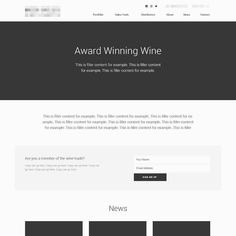 New #website in the #wireframing phase